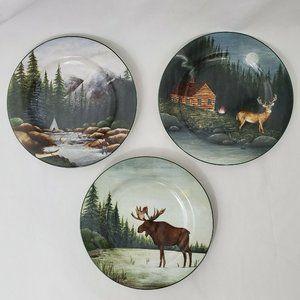Sakura Northwoods Decorative Plates David Carter